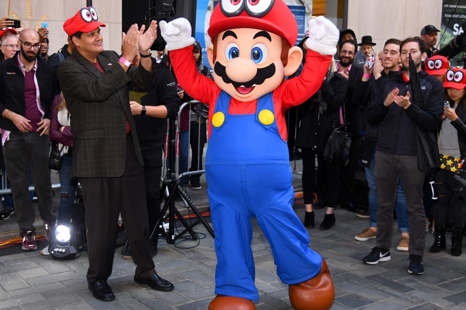 Animated Super Mario Bros Movie Tentatively Planned For 2022