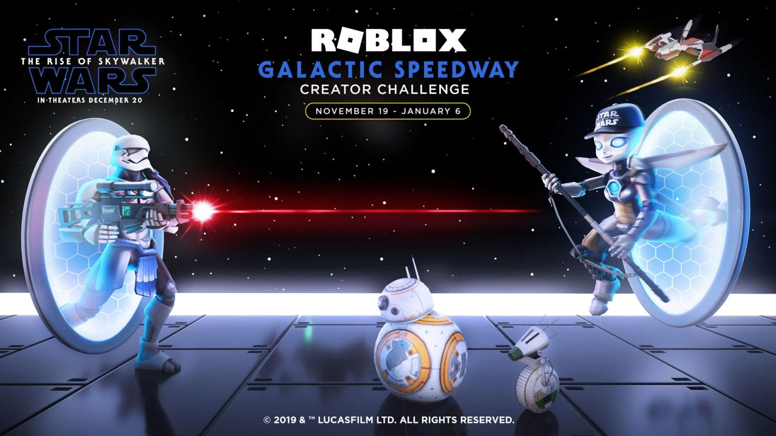 How To Make A Roblox Audio Roblox Tutorial Fitz Roblox Wants You To Build Star Wars Speeder To Celebrate Rise Of Skywalker Engadget
