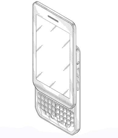 BlackBerry awarded design patent for portrait QWERTY
