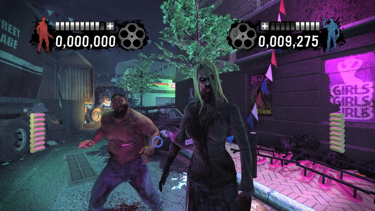 House Of The Dead Overkill Naked Terror Screens Are Fortunately