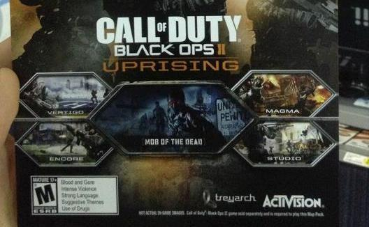 Black Ops 2 Uprising Dlc Adds New Maps Zombie Adventure On April 16 Engadget