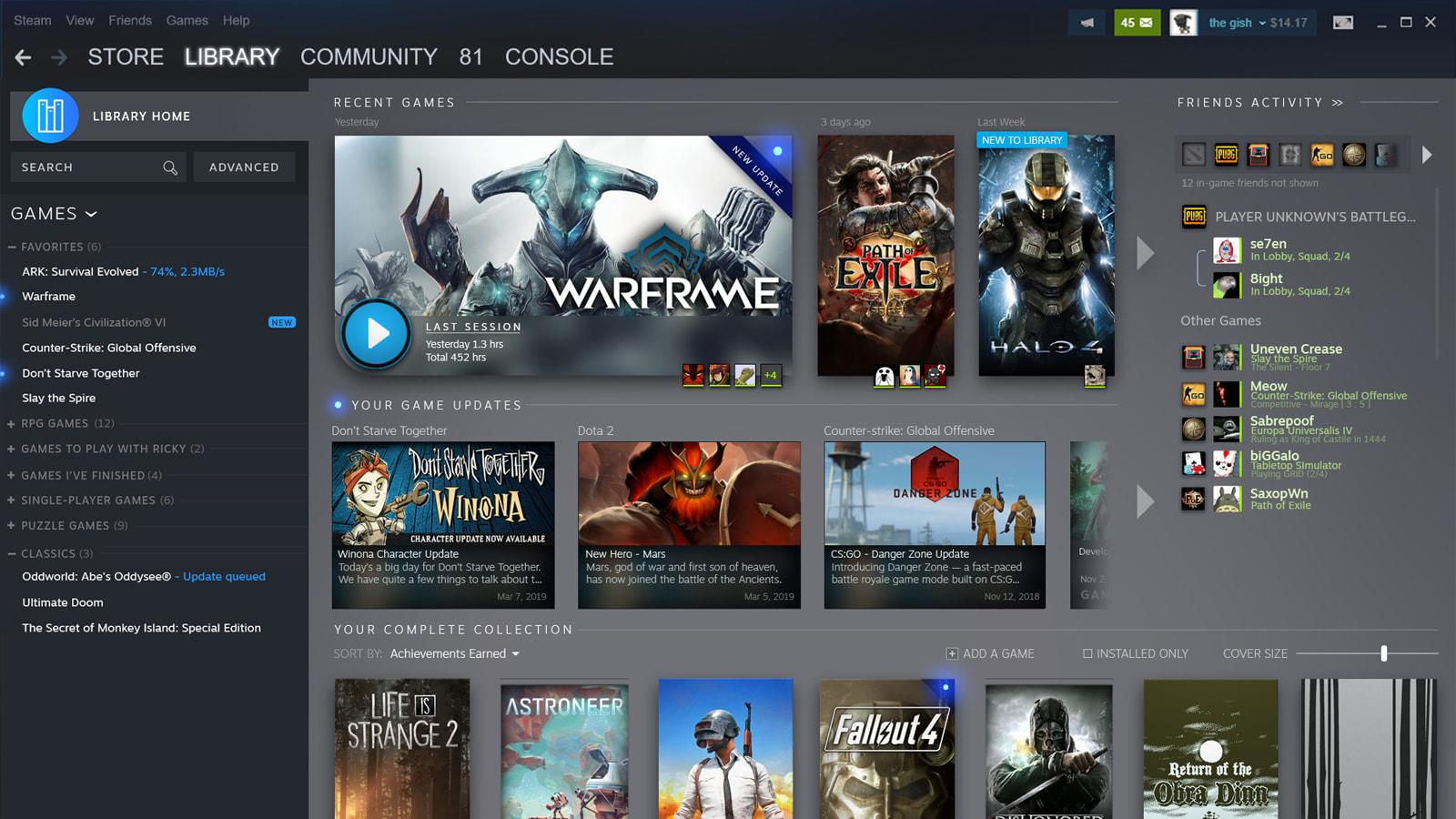 Steam's redesigned library will show what's happening with your games    Engadget