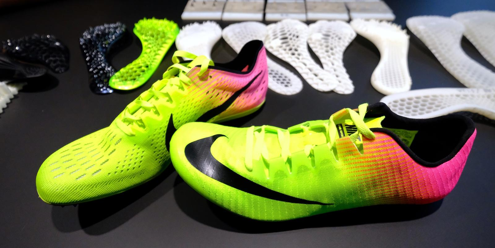 Nike Used 3d Printing And Olympic Sprinters To Design Its New Track Shoe Engadget