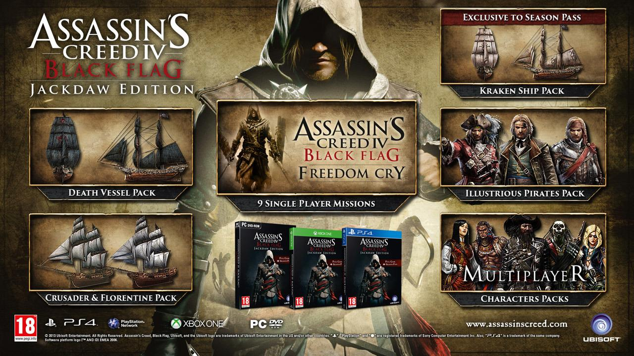 Ubisoft Reveals Assassin S Creed 4 Jackdaw Edition Retail Bundle