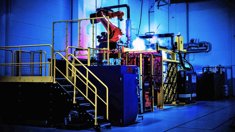 internacional George Hanbury Normalmente  Adidas uses robots to bring shoe production back to Germany | Engadget