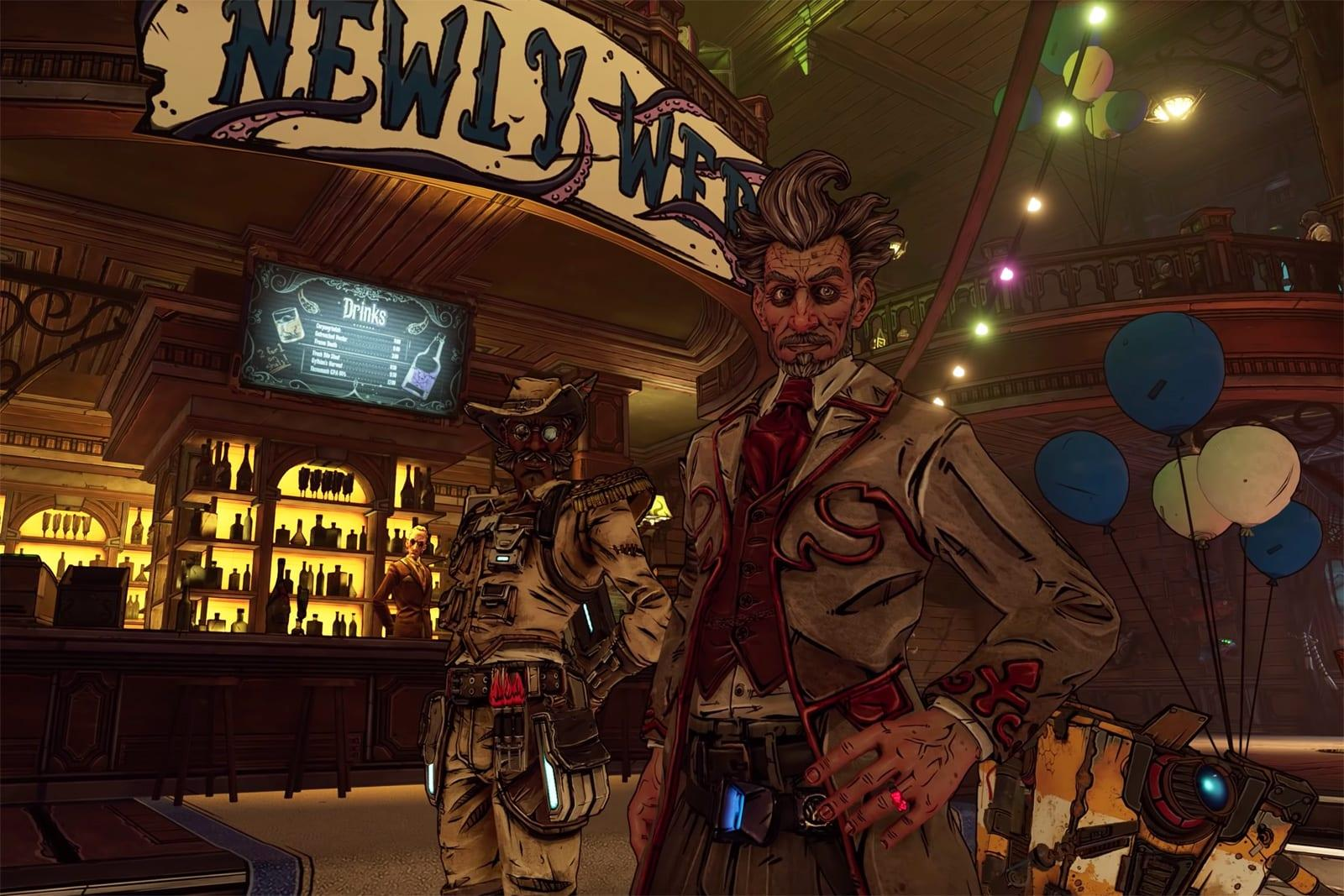 The Latest Borderlands 3 Dlc Is An Engagement Party With Guns Engadget To unlock life of the party, you will first need to accept the mission from mordecai in the devil's razor. the latest borderlands 3 dlc is an