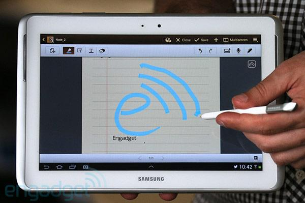 Samsung Galaxy Note 10 1 With Lte Headed For Verizon Engadget