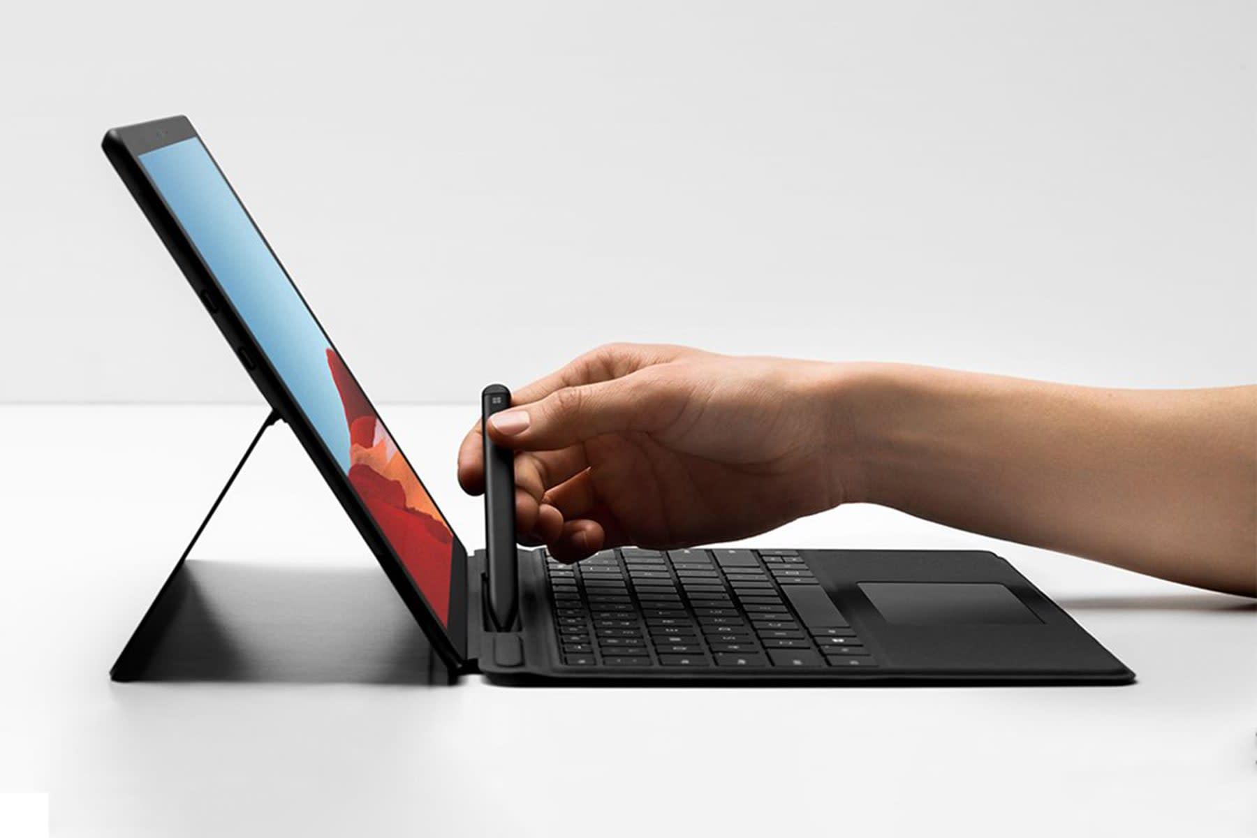 Microsoft Surface X Pro sem processador Intel