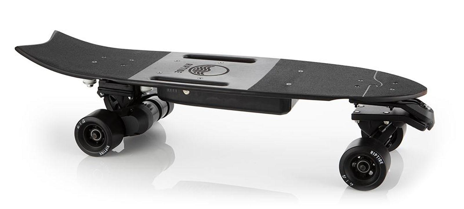 Riptide's latest electric skateboard carves like a surfboard | Engadget