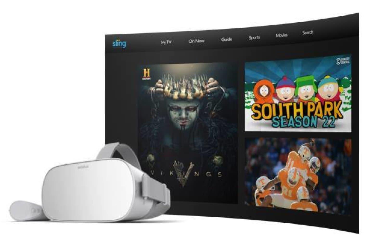 Sling Adds Social Tv And Movie Viewing To Its Oculus Go App Engadget