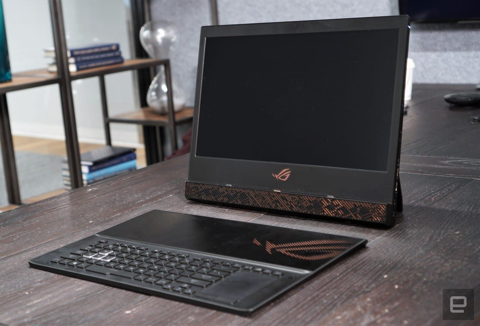 You Ve Never Seen A Gaming Laptop Like The Asus Rog Mothership Engadget