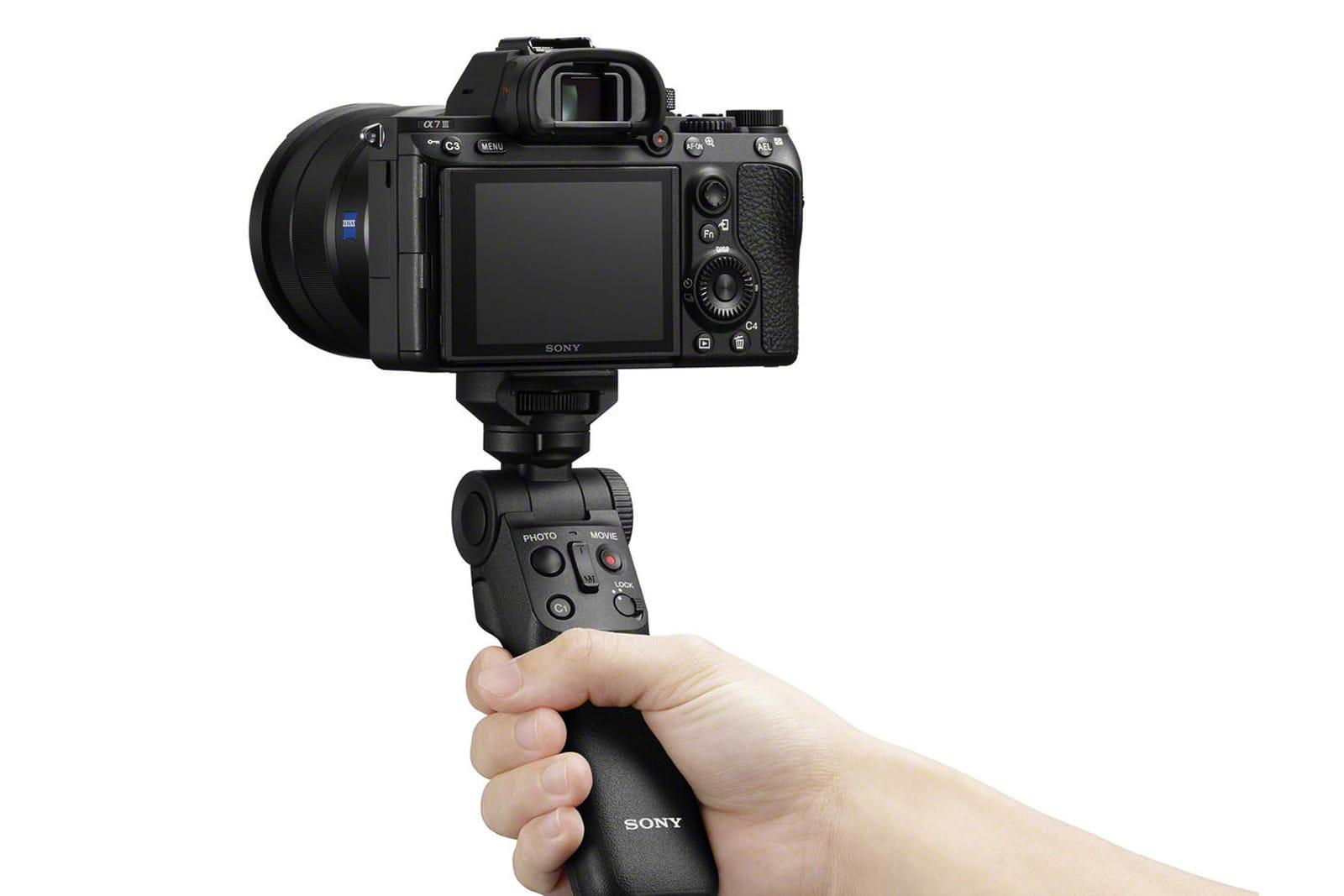 Sony Made A Wireless Camera Grip For Vloggers Engadget