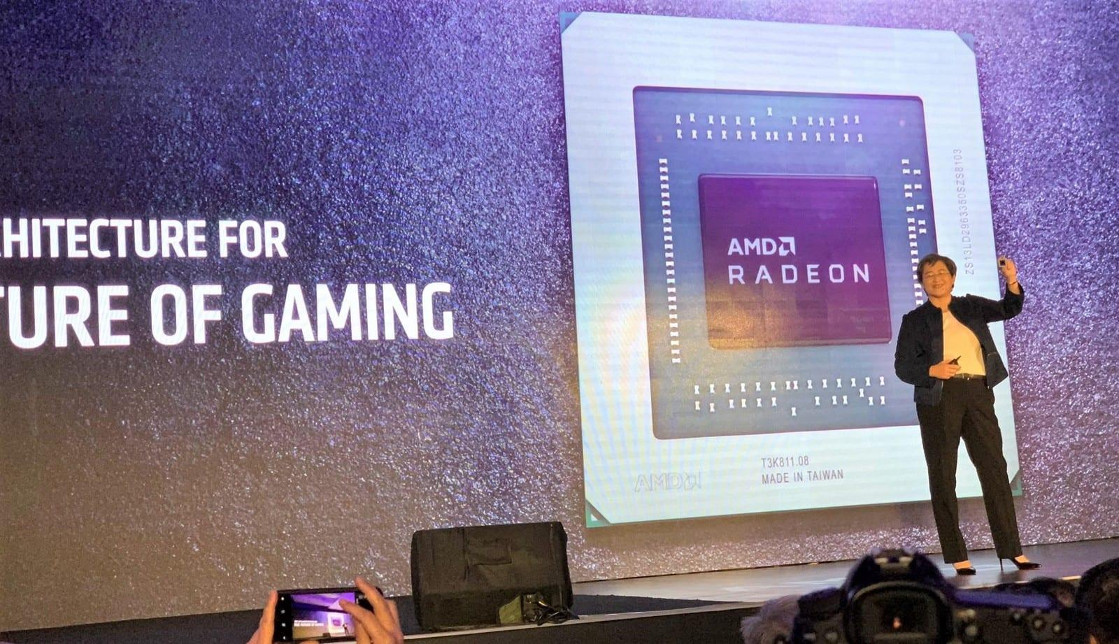 Amd S First Navi Gpus Are The Radeon Rx 5000 Series Engadget