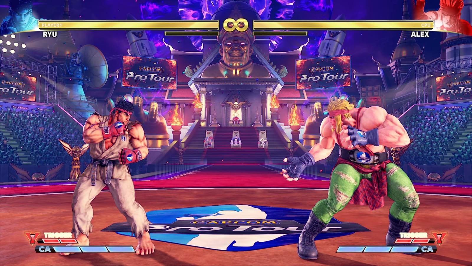 Capcom Pulls In Game Ads From Street Fighter V Engadget