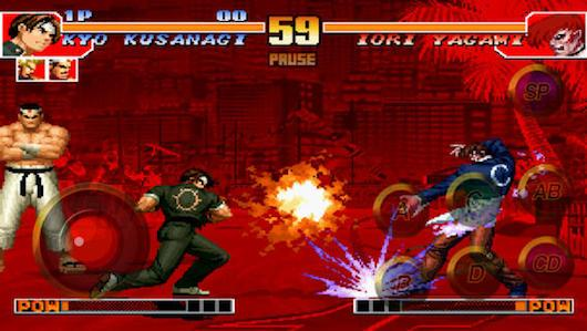 Psa King Of Fighters 97 Sneaks Onto Ios Android Devices Engadget