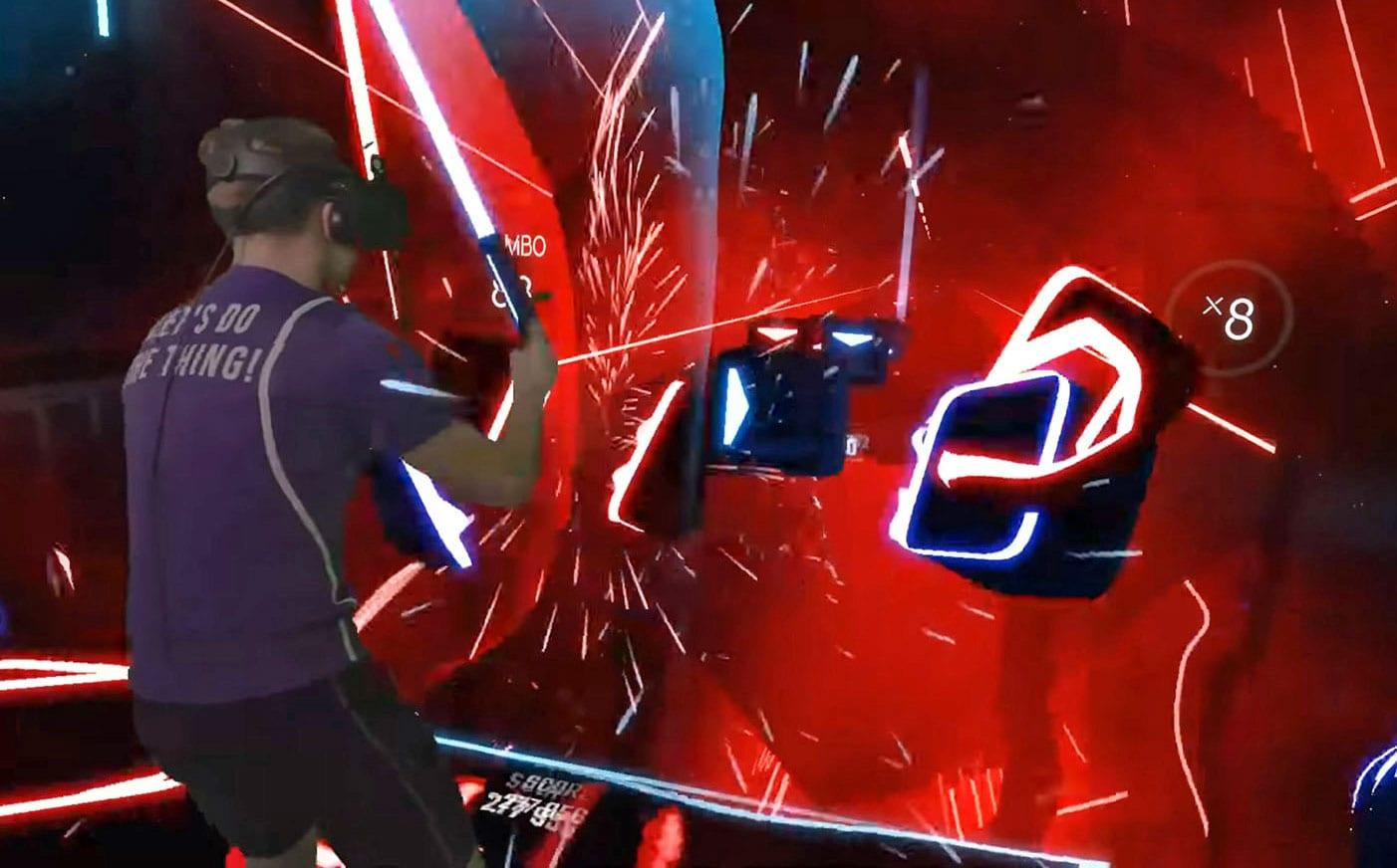 Beat Saber Players Were So Fast That They Broke Steam Vr Engadget Know i can make your hands clap said i can make your hands clap every night when the stars come out am i the only living soul around? beat saber players were so fast that