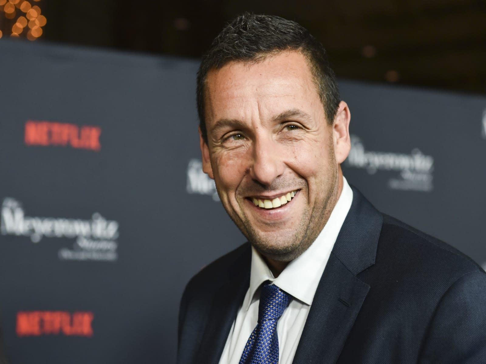Adam Sandler S Latest Netflix Film Sports A Star Studded Cast Engadget