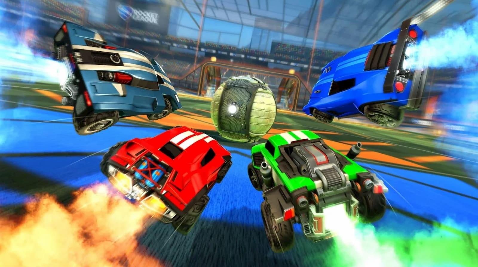Rocket League Is Making Its First Three Dlc Packs Available For