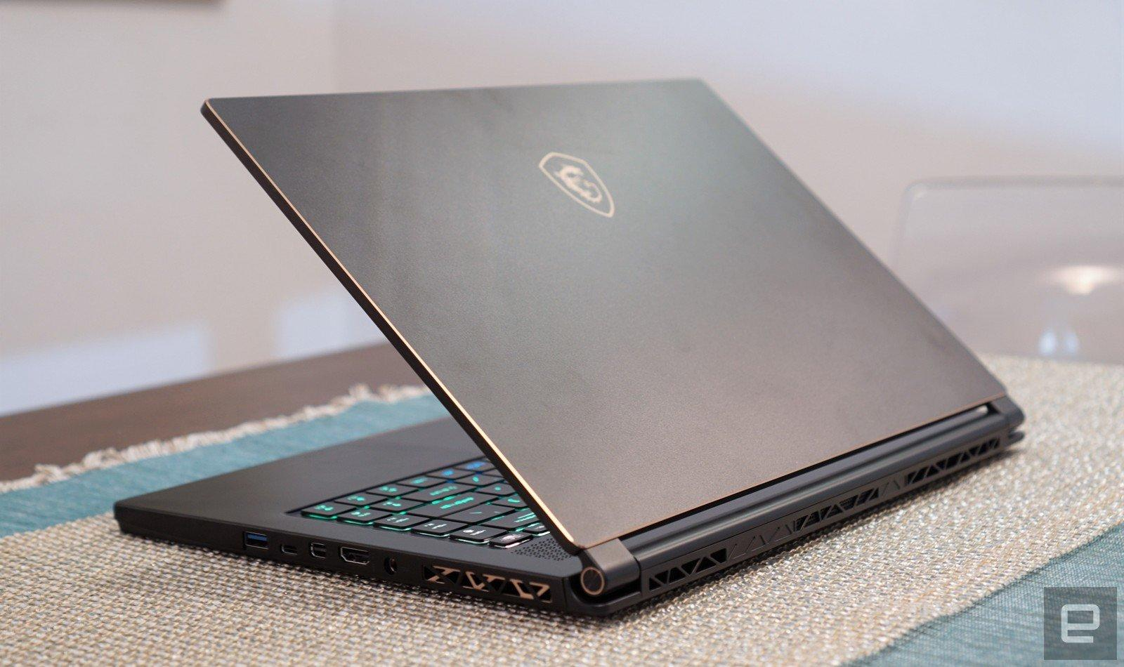 Msi Gs65 Stealth Thin Review A Milestone For Laptop Gaming Engadget