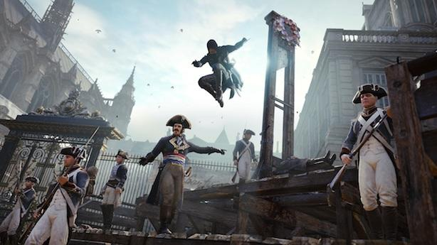 Assassin S Creed Unity Gameplay Trailer Is Heady Engadget