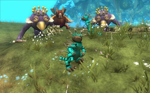 Spore: Creature Stage wanders onto land, into blog post | Engadget