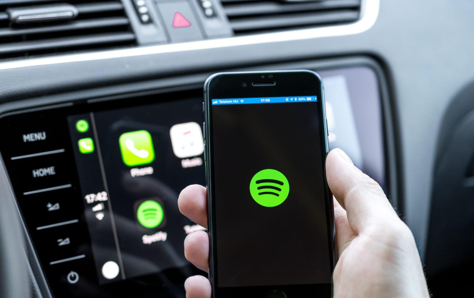 Spotify is working on voice activation for its apps | Engadget