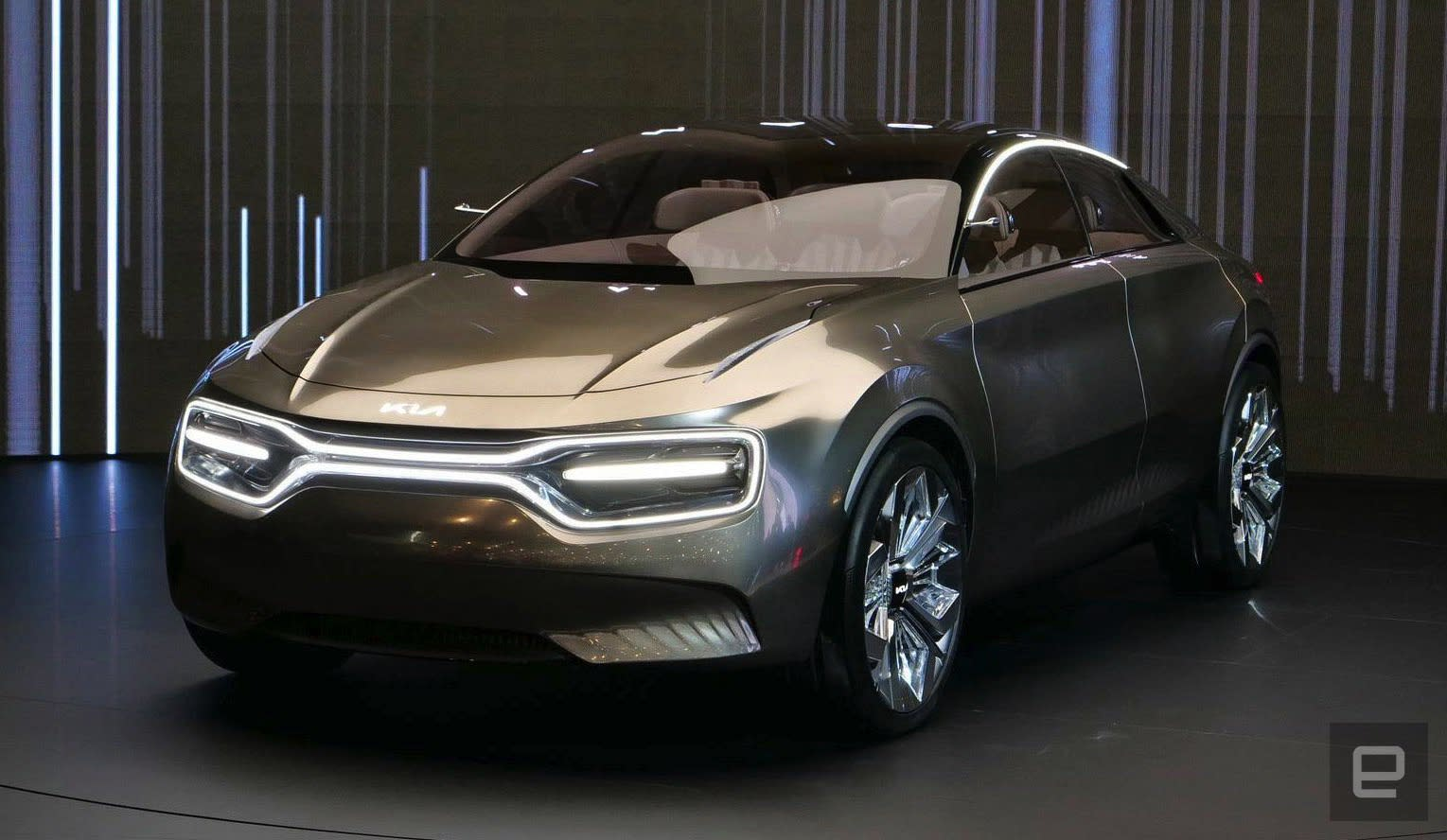 Kia will release a production version of its Imagine EV in ...