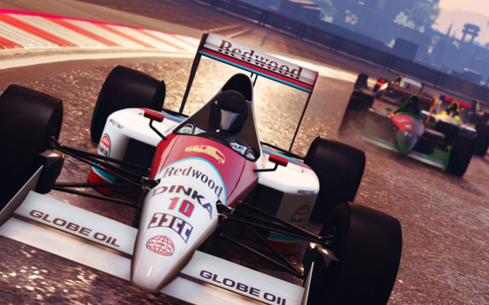 Gta Online Gets Competitive F1 Racing Today Engadget