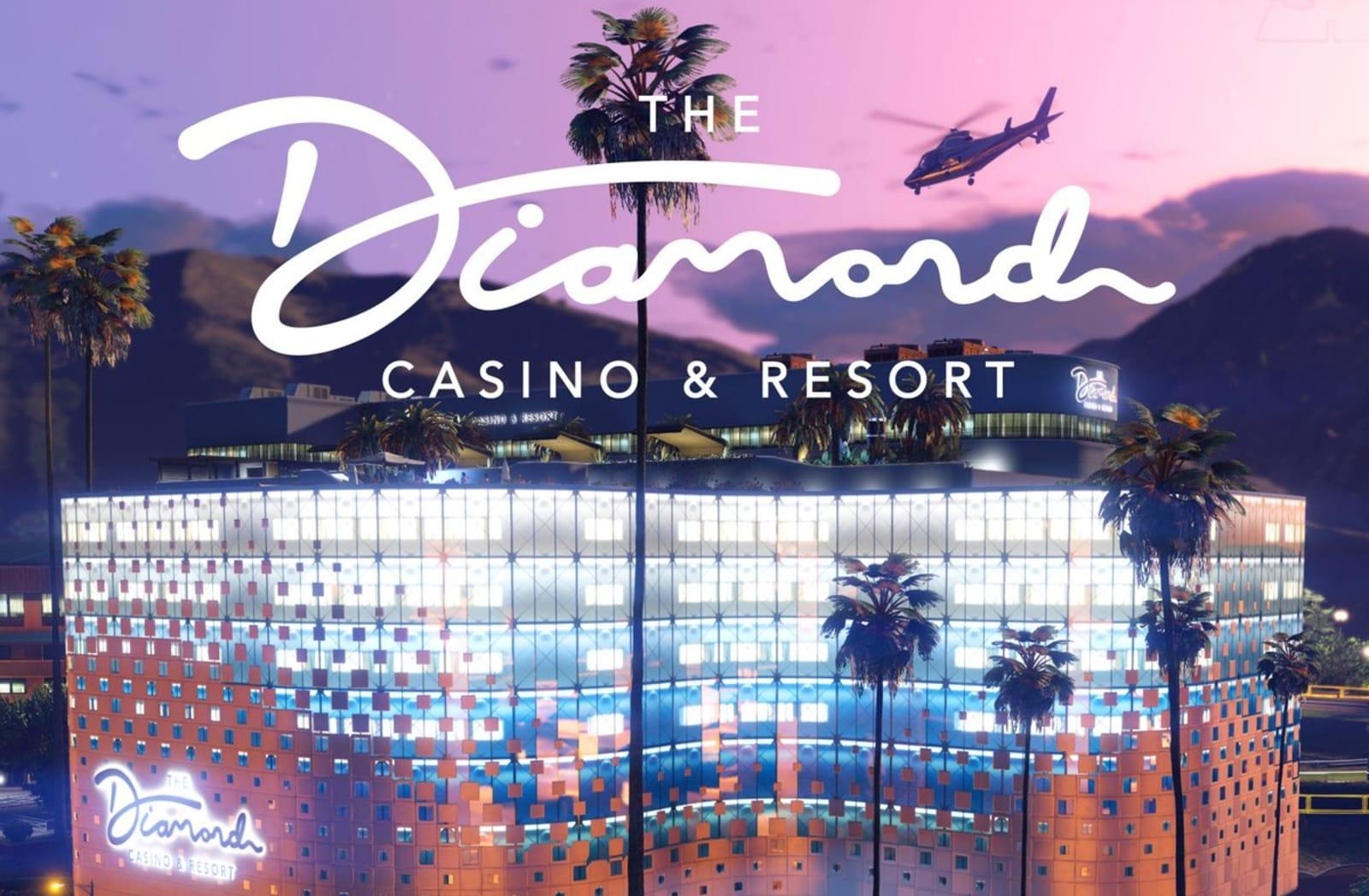 Gta Online Opens The Doors To The Diamond Casino Resort Engadget