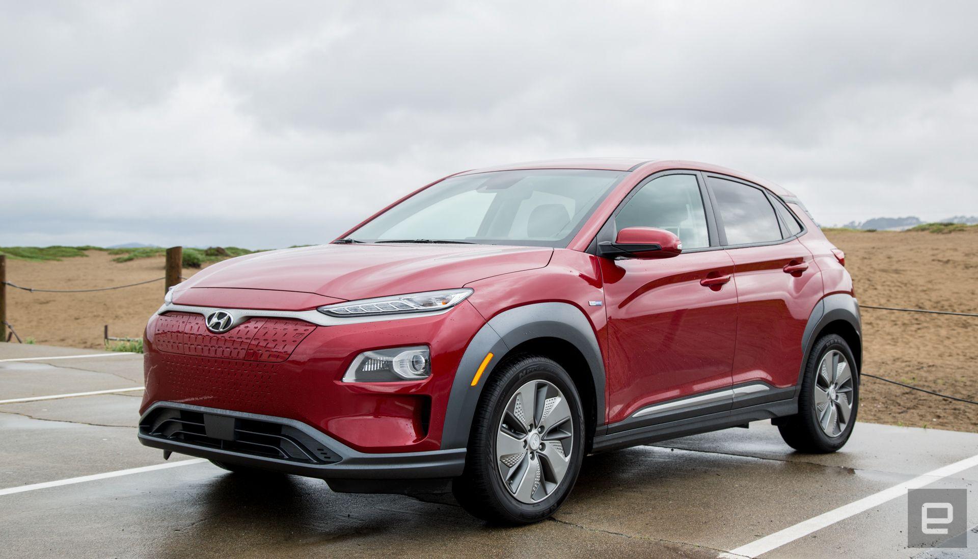 Hyundai recalls the Kona EV in South Korea over battery ...