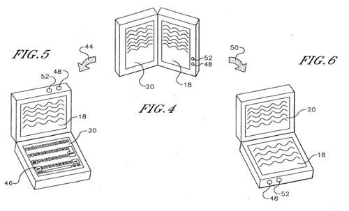 Sony patent application points to dual-screen, dual-use