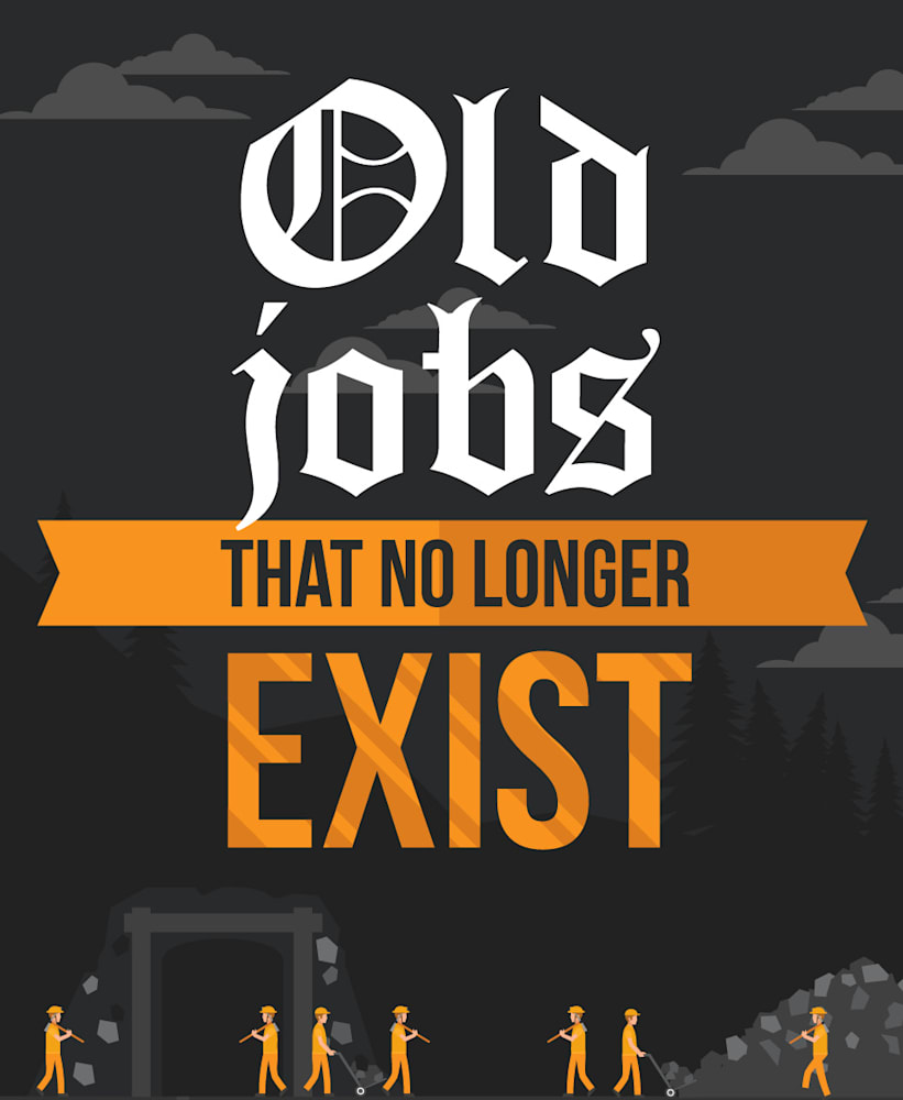 unusual old jobs that no longer exist aol finance slideshow preview image