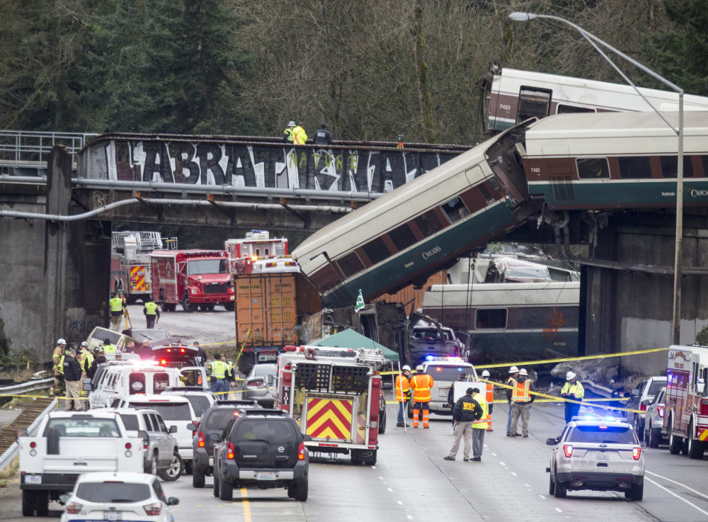 Amtrak Accidents Hurt Safety Reputation, but Railroad Remains Popular with Congress, Riders