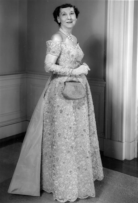 50 years of First Ladies\' style: Inaugural ball gowns through the ...