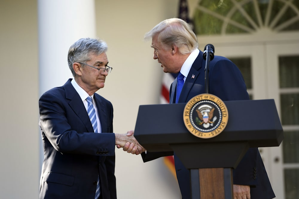Image result for Trump nominates Fed's Powell to lead U.S. central bank