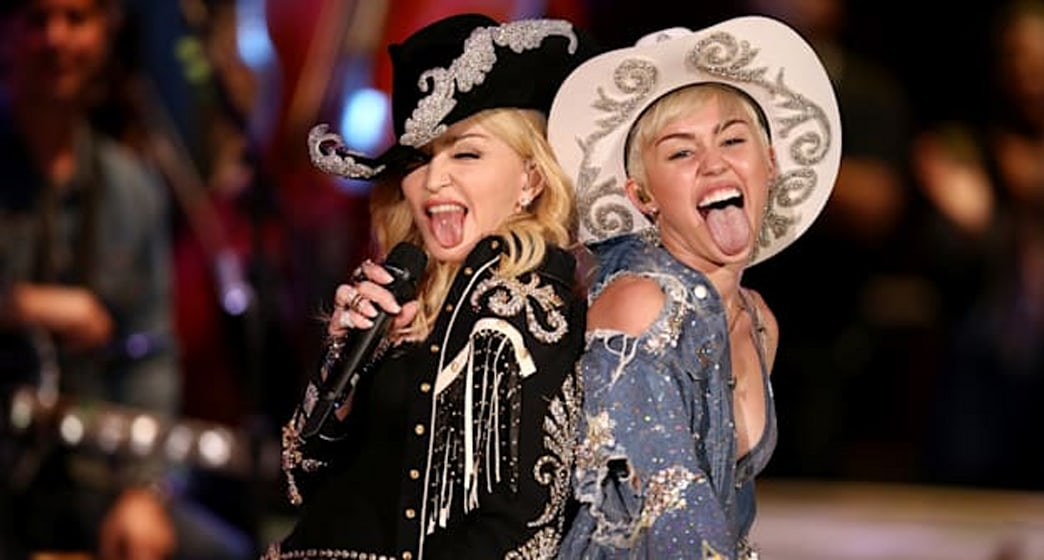 Top 9 at 9: Miley Cyrus and Madonna don Western wear, plus more of today's top style news