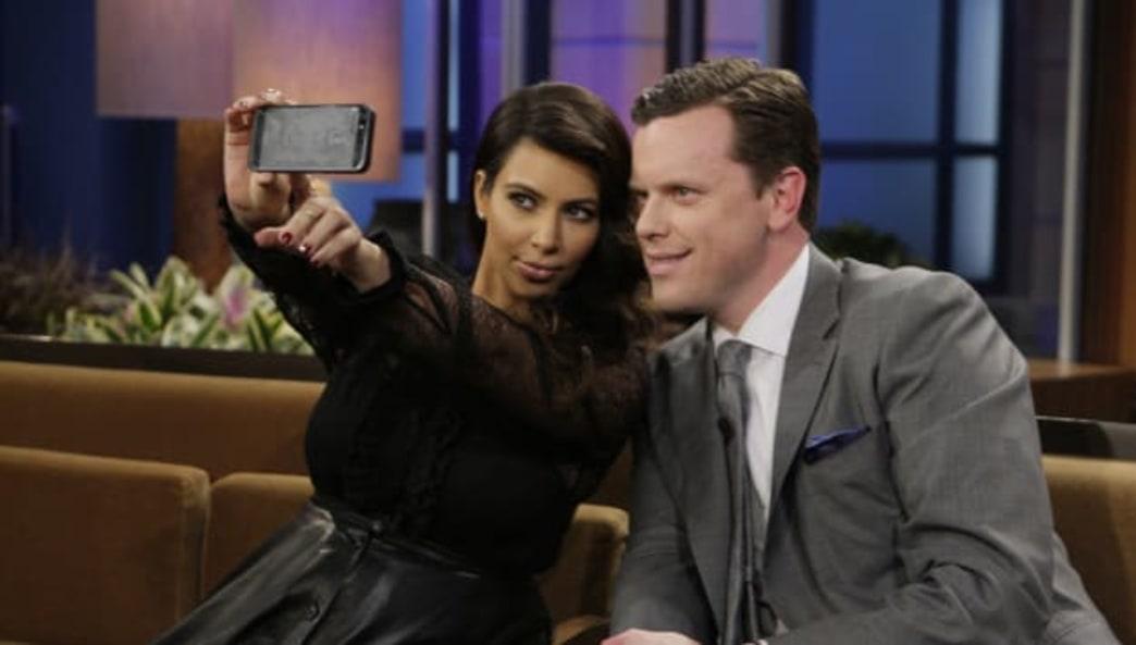 The selfie brush is here ...