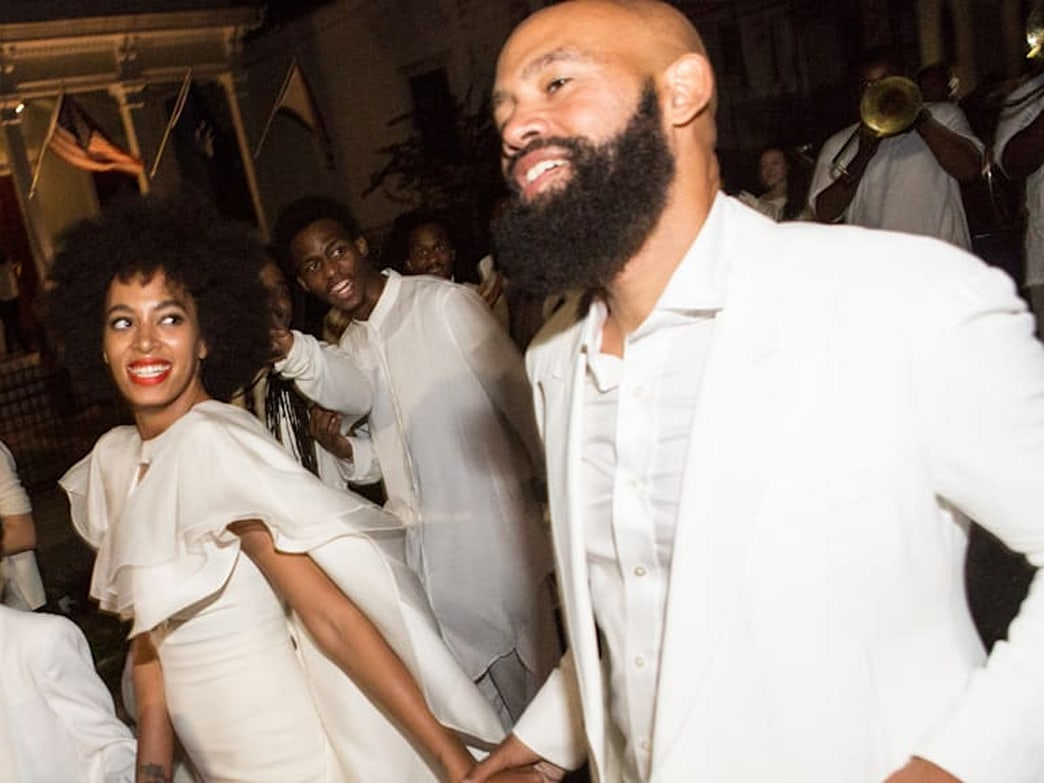 What to do if you get hives on your wedding day, Solange style