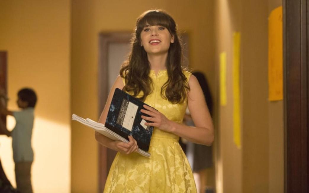 Zooey Deschanel's Yellow Dress on 'New Girl'