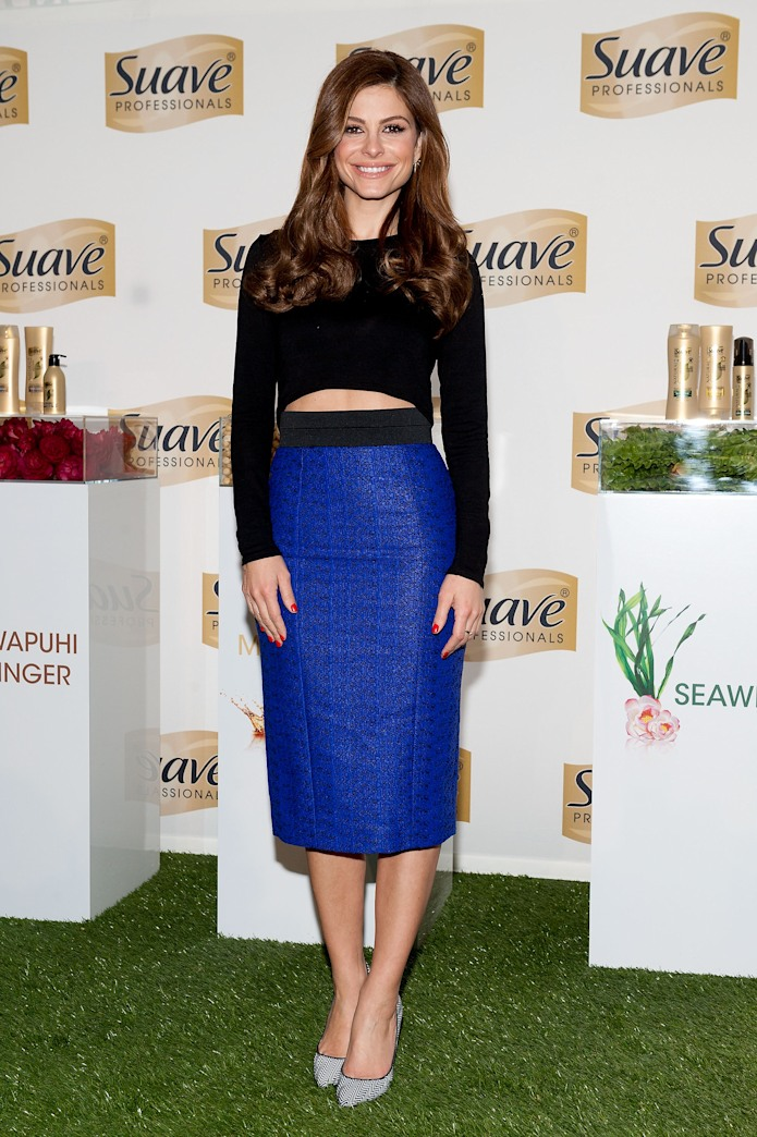 Maria Menounos adds a touch of glam at the GLAM4GOOD kick-off