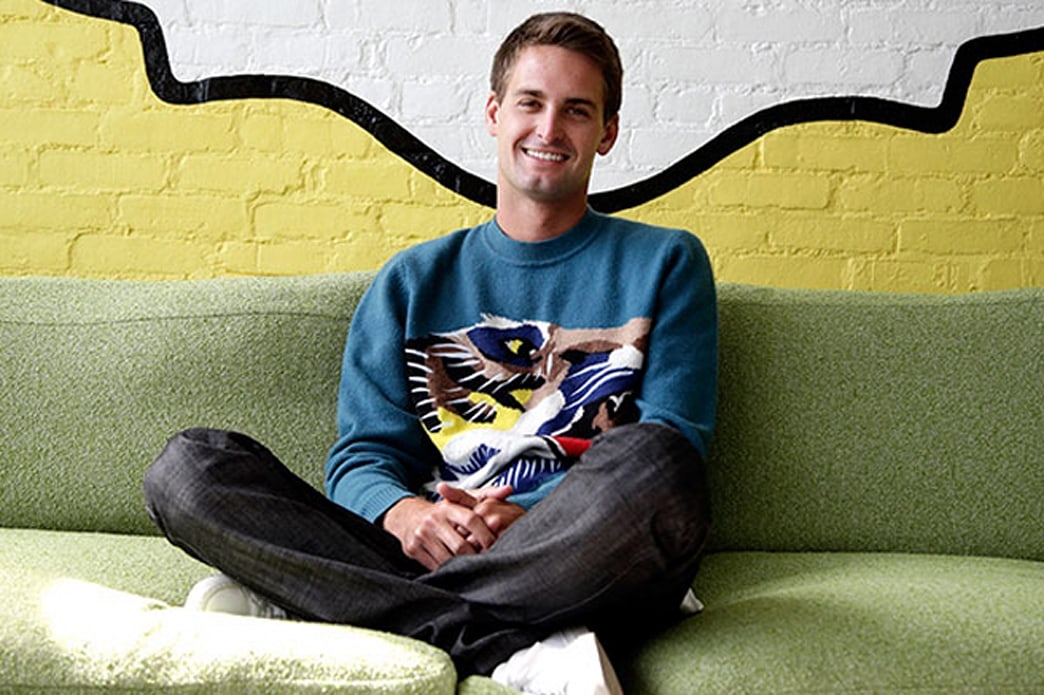 Finally, a tech CEO with style: A closer look at Snapchat's Evan Spiegel