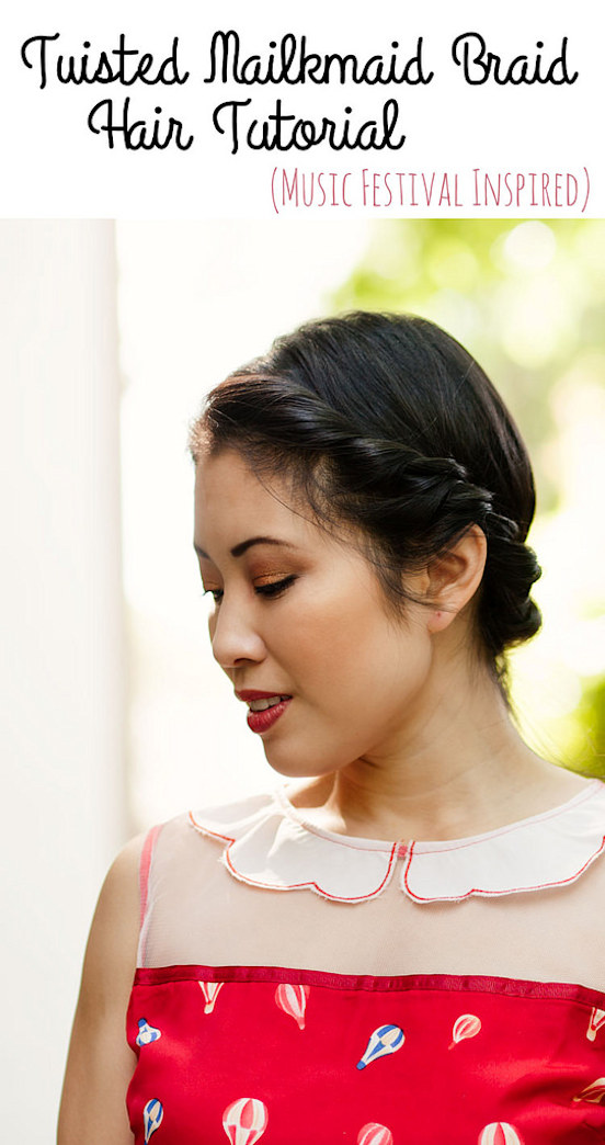 WATCH: A music festival-inspired milkmaid braid tutorial