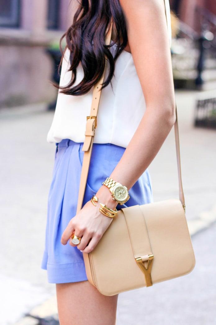 Summer's prettiest silk shorts
