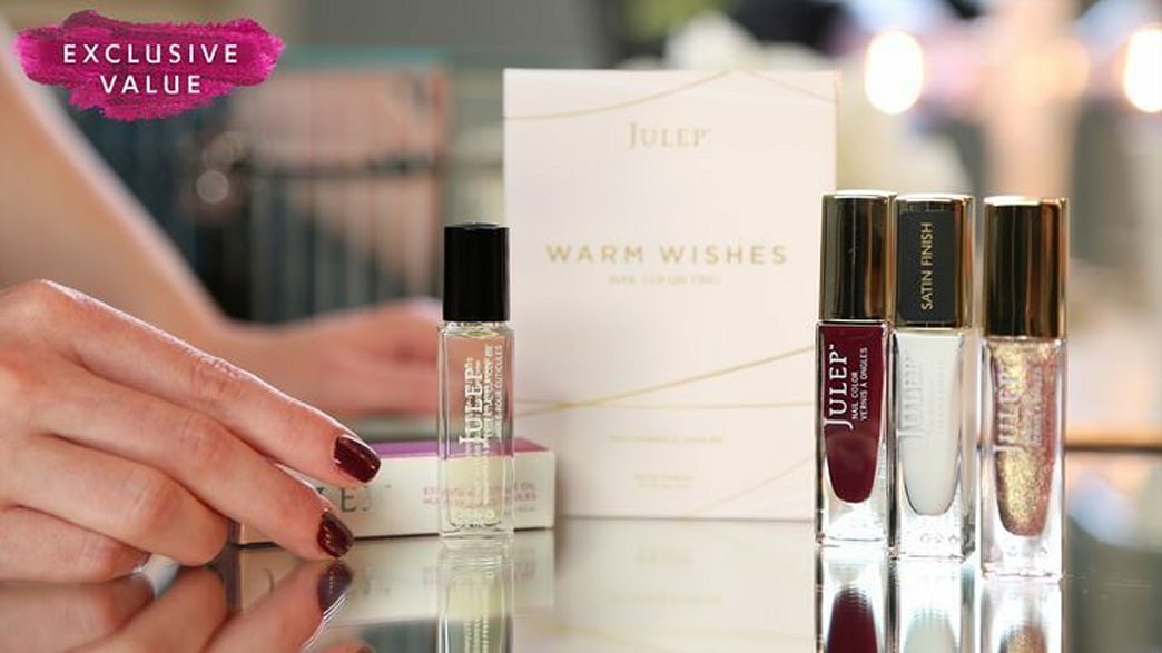 Great for gifts: A pretty polish trio