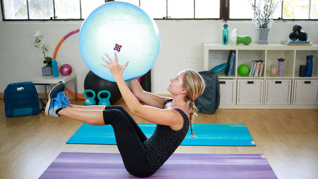 This stability ball is all you need for a challenging workout