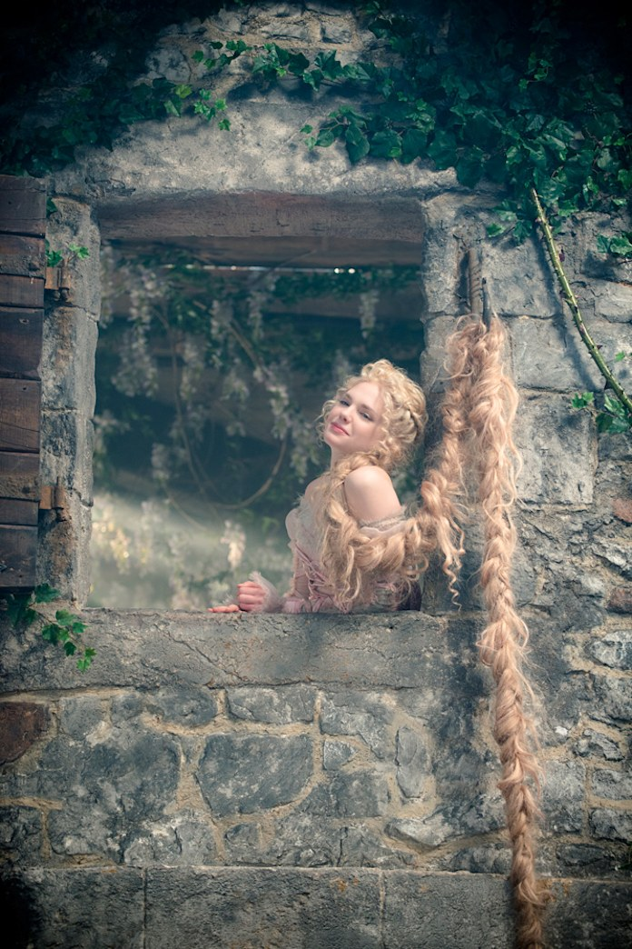 The story of Rapunzel's hair from 'Into the Woods'