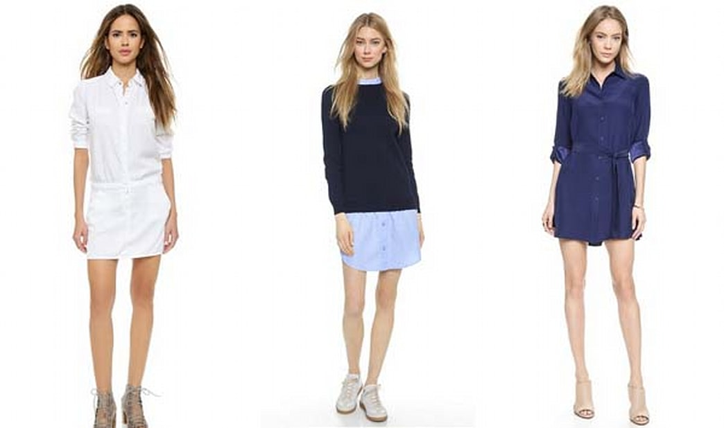 12 shirtdresses to love right now