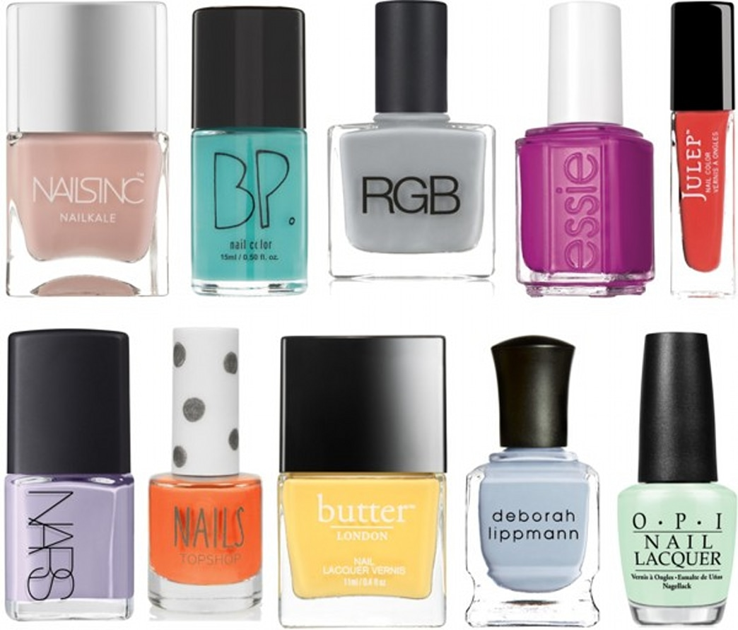 A few of our favorite spring nail polishes - AOL Lifestyle
