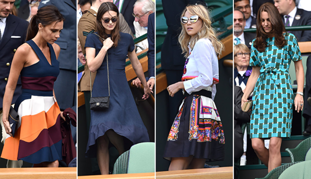 VOTE: Which is your favorite celebrity look from Wimbledon?