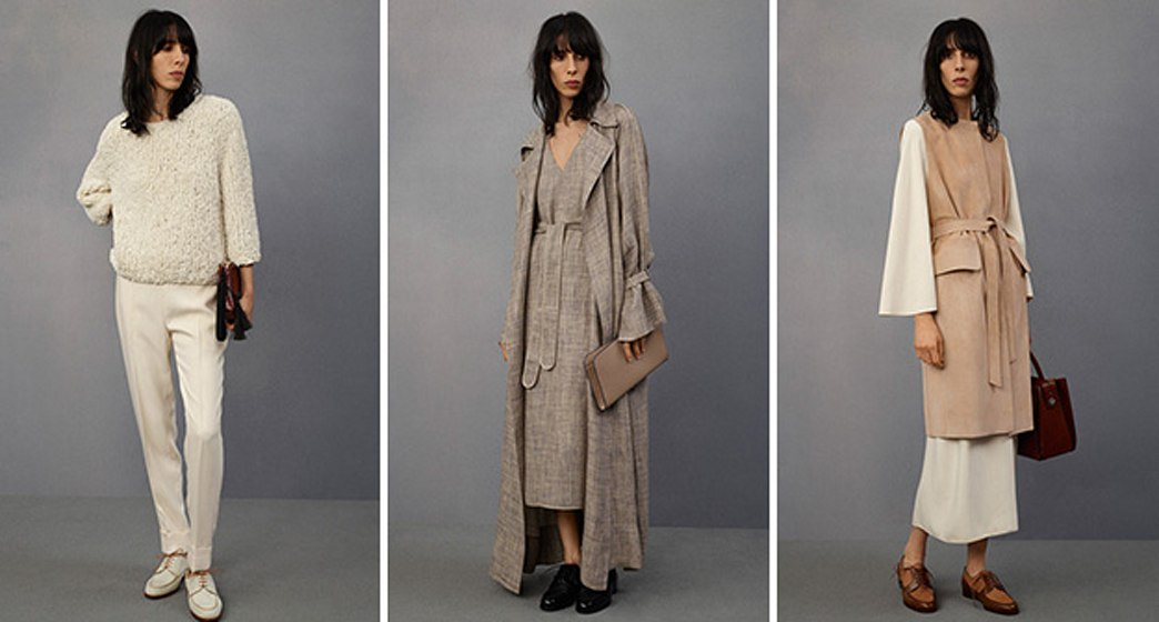 Mary-Kate and Ashley Olsen do logos for The Row resort 2015